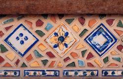 Mozaiki tło mozaika kolorowa Tekstury mozaika Rozpada się o Zdjęcia Stock