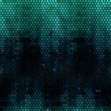 Mozaiki zielony tło Obraz Stock