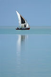 Mozambican dhow Stock Image