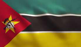 Mozambique Flag Royalty Free Stock Image