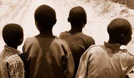mozambique folk Royaltyfri Foto