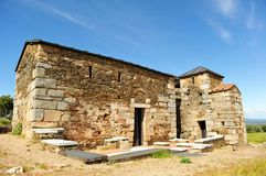 The mozarabic basilica of Trampal in Alcuescar. Spain Stock Images