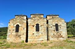 Basilica of Santa Lucia del Trampal in Alcuescar. Spain Royalty Free Stock Photos