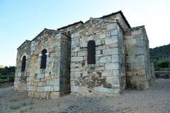Basilica of Santa Lucia del Trampal in Alcuescar. Spain Royalty Free Stock Photography