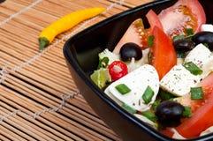 Mozarella and chilli Royalty Free Stock Image
