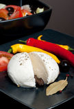 Mozarella and chilli Royalty Free Stock Images