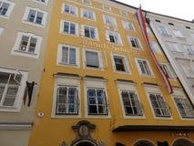 Mozart& x27; дом 1 s стоковые изображения rf