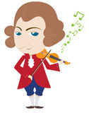 Mozart Royalty Free Stock Photo