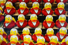 Mozart ducks Stock Photos
