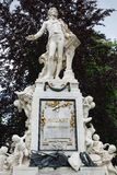 Mozart Memorial Vienna Stock Photos