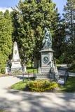 Mozart Memorial in Zentralfriedhof, Vienna, Austria. Stock Photo