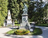 Mozart Memorial in Zentralfriedhof, Vienna, Austria. Stock Image