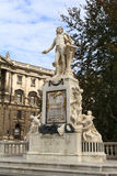 Mozart monument in Vien Stock Photography