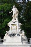 Mozart Monument in Vienna Stock Photo