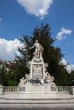Mozart-Monument in Wien Lizenzfreies Stockbild