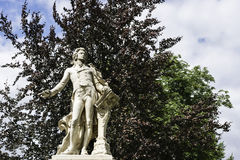Mozart pomnik w Burggarten, Wiedeń Zdjęcia Royalty Free