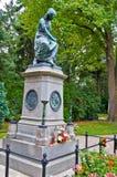 Mozart's grave Stock Photo