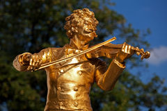 Mozart statue Royalty Free Stock Photo