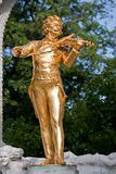 Mozart statue Royalty Free Stock Photography