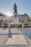 Mozart statue in Mozartplatz, Austria Stock Image