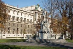 Mozart Statue Vienna Imagem de Stock Royalty Free