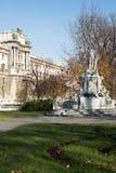 Mozart Statue Vienna Fotos de Stock Royalty Free