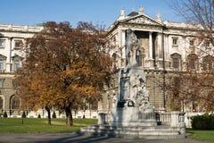 Mozart Statue Vienna Imagens de Stock Royalty Free