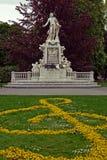 Mozart zabytek, Wiedeń Austria Zdjęcia Royalty Free