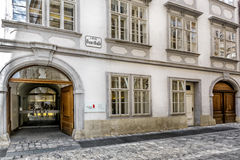 Mozarthaus w Wiedeń Fotografia Royalty Free