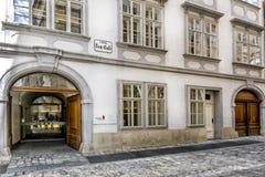 Mozarthaus in Wenen Royalty-vrije Stock Fotografie