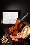 Mozartkugeln und Mozarttaler Lizenzfreie Stockfotos