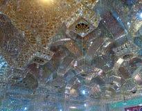 Mozayka i moskéschah Cheragh Royaltyfria Foton