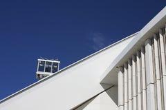 Mozes Mabhida Stadium, de Kop van de Wereld van het Voetbal Stock Afbeelding