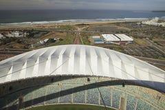 Mozes Mabhida Stadium, de Kop van de Wereld van het Voetbal, Royalty-vrije Stock Foto