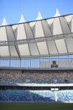 Mozes Mabhida Stadium, de Kop van de Wereld van het Voetbal Royalty-vrije Stock Foto's