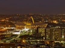 Mozes Mabhida Stadium, Durban, Zuid-Afrika Royalty-vrije Stock Fotografie