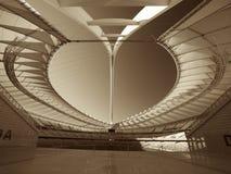 Mozes Mabhida Stadium, Durban, Zuid-Afrika Stock Foto's