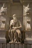 Mozes van Michelangelo royalty-vrije stock foto's