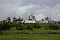Mozhaisk. Luzhetsky monastery. Panorama. Royalty Free Stock Images