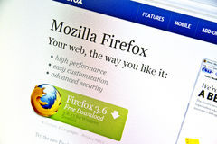 Mozilla Firefox Stock Photos
