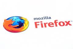 Mozilla firefox Zeichen Lizenzfreies Stockbild