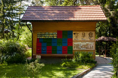 Mozirje, Slovenia - May 5 2014: Traditional colorful and picture Royalty Free Stock Photos