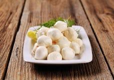 mozzarella сыра Стоковые Изображения RF