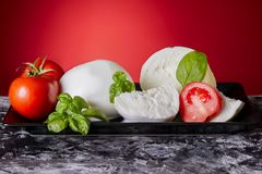 Mozzarella Fotos de Stock