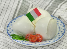 Mozzarella Stock Image