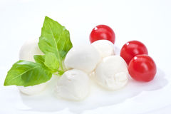 Mozzarella Royalty Free Stock Photos