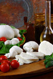 Mozzarella fotos de stock royalty free