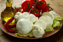 mozzarella Obraz Stock