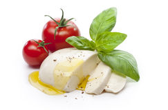 Mozzarella Obrazy Stock