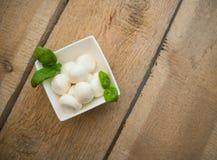 Mozzarella Fotografie Stock Libere da Diritti